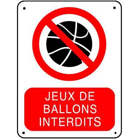 JEUX DE BALLONS INTERDITS