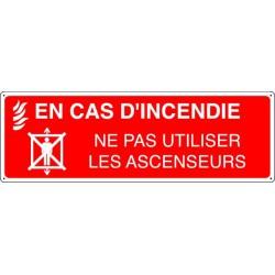 EN CAS D'INCENDIE NE PAS UTILISER LES ASCENSEURS