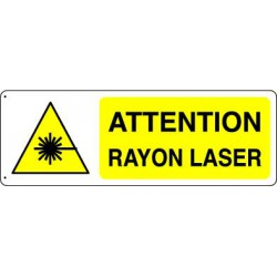 ATTENTION RAYON LASER