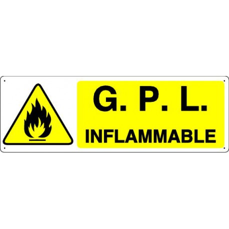 G.P.L. INFLAMMABLE