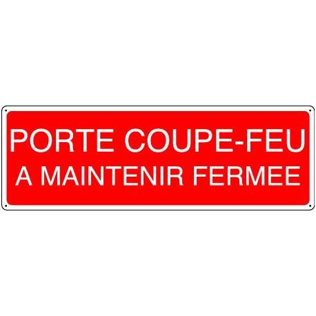 PORTE COUPE-FEU