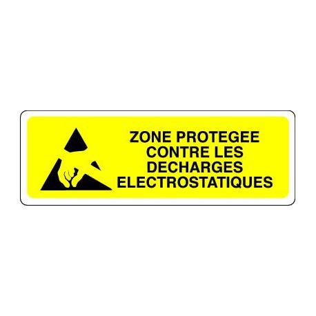 ZONE PROTEGEE CONTRE LES DECHARGES ELECTROSTATIQUES