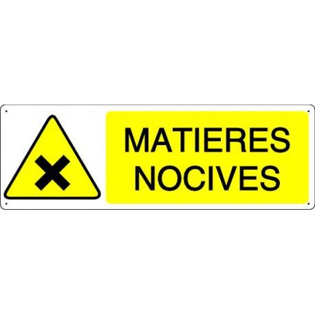MATIERES NOCIVES