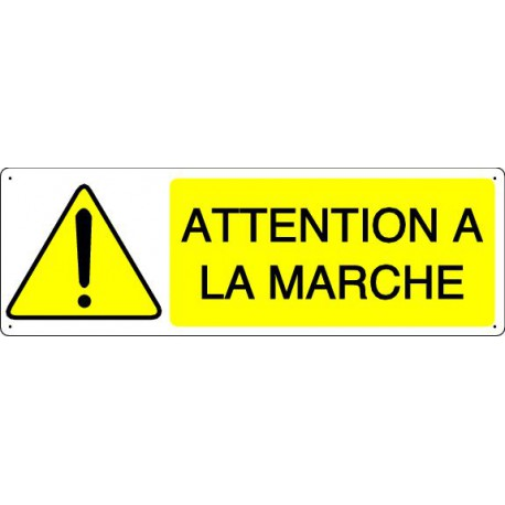 ATTENTION A LA MARCHE