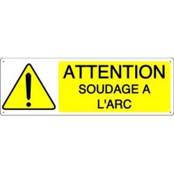 ATTENTION SOUDAGE A L'ARC