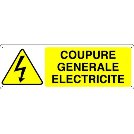 COUPURE GENERALE ELECTRICITE