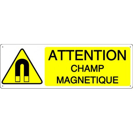 ATTENTION CHAMP MAGNETIQUE