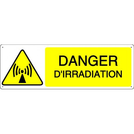 DANGER D'IRRADIATION