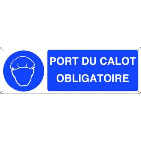 Panneau d'obligation PORT DU CALOT OBLIGATOIRE