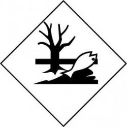 Etiquette de produits dangereux : Polluant marin