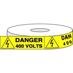 Pictogrammes adhésifs DANGER 400 VOLTS