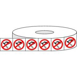 Pictogrammes adhésifs toute flamme interdite