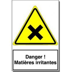 DANGER MATIERES IRRITANTES