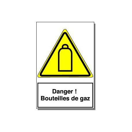 DANGER BOUTEILLES DE GAZ