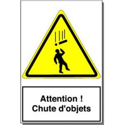 ATTENTION CHUTES D OBJETS
