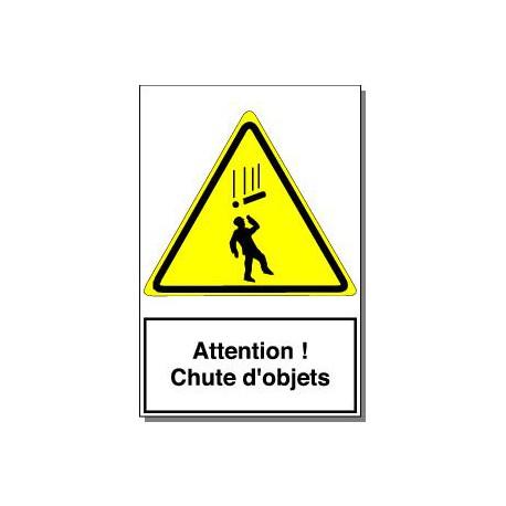 ATTENTION CHUTES D OBJETS