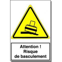 ATTENTION RISQUE DE BASCULEMENT