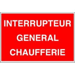 INTERRUPTEUR GENERAL CHAUFFERIE