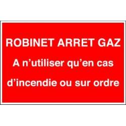 ROBINET ARRET GAZ