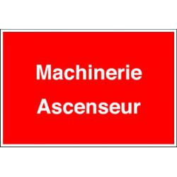 MACHINERIE ASCENSEUR