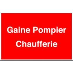 GAINE POMPIER CHAUFFERIE