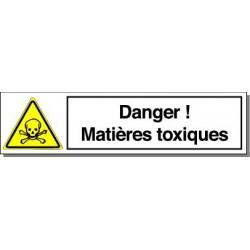 DANGER MATIERES TOXIQUES