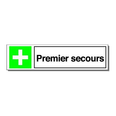 Premiers Secours, rigide adhésivé