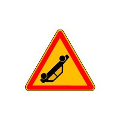 PANNEAU DE CHANTIER ATTENTION ACCIDENT