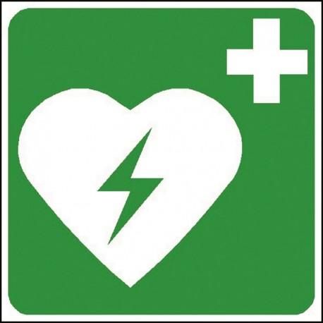 Panneau Défibrillateur Automatique Externe pour le coeur
