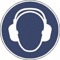 Panneau Casque Anti bruit Obligatoire