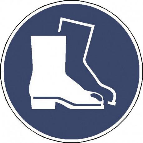 Panneau Chaussures de Sécurité Obligatoire