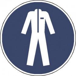Panneau Vêtements de Protection Obligatoire