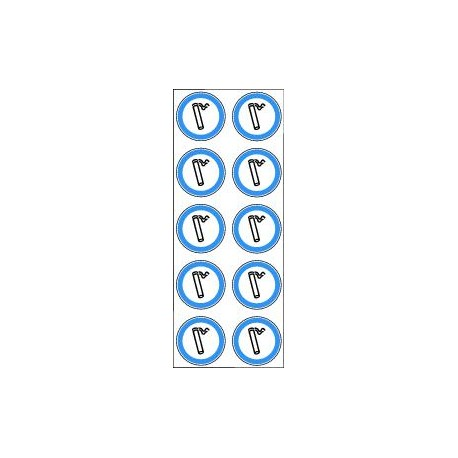 Mini pictogrammes d'obligation