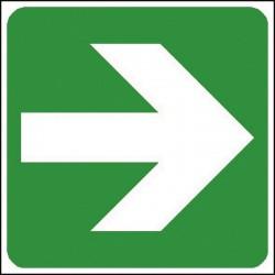 Flèche vers la droite à positionner sous 4001 et 4002