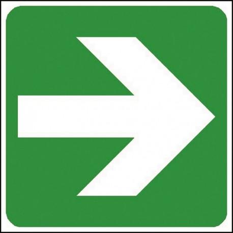 Panneau Flèche vers la droite à positionner sous 4001 et 4002