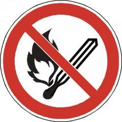 Flammes nues et feux interdits