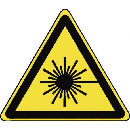 Panneau Danger Rayonnement Laser