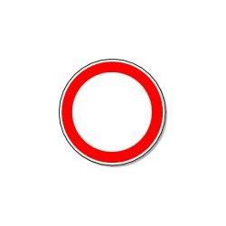 Panneau Circulation Véhicules interdite