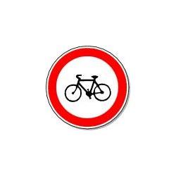 Panneau Interdit aux Vélos