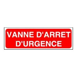 Vanne d'Arrêt d'Urgence
