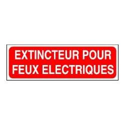 Extincteur pour Feux Electriques