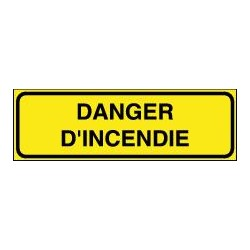 Danger d'Incendie