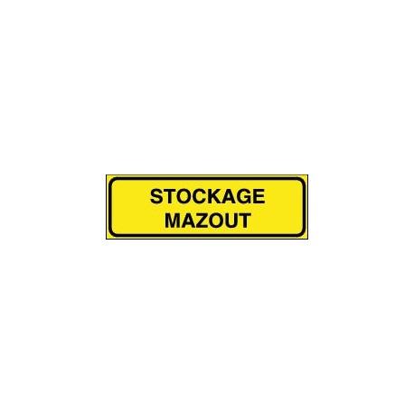 Panneau Stockage Mazout