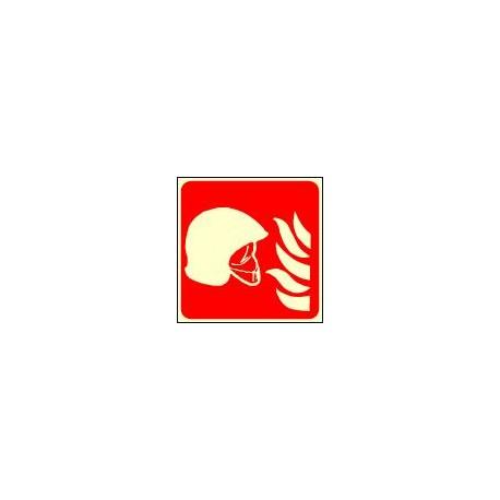 Panneau Photoluminescent Ensemble d'Equipement de Lutte contre l'Incendie