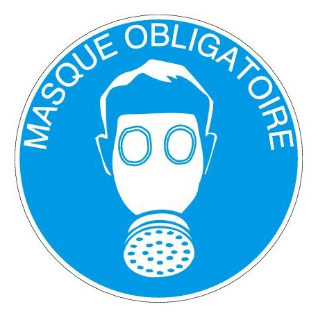 Panneau Masque Obligatoire