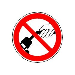 Ne pas tirer sur le câble