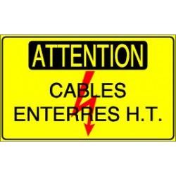 Attention Cables enterrés HT