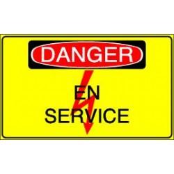 Danger En Service