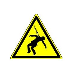 Danger d'Electrocution