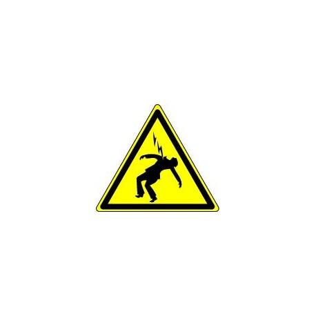 Panneau Danger d'Electrocution